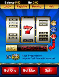 Major Millions Progressive Mobile Game